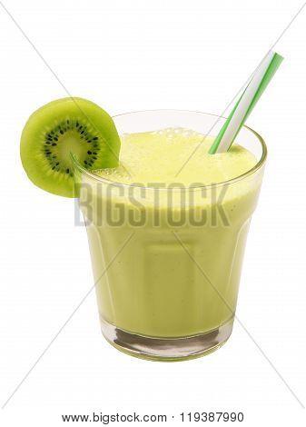 smoothie kiwi isolated