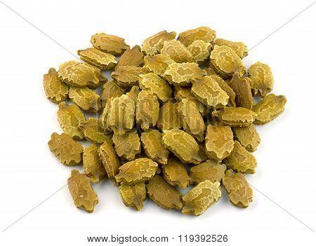 Seeds of green momordica