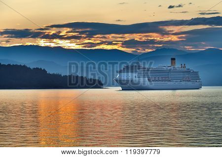Sunrise In The Greek Archipelago