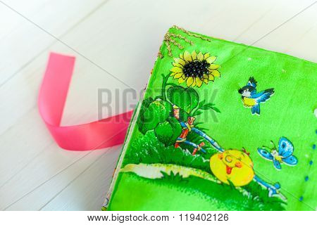 soft book for children handmade, needlework
