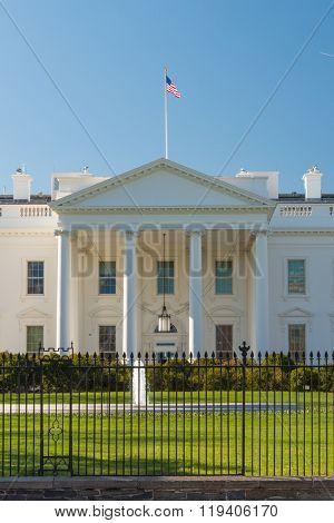 The White House in Spring - Washington DC USA