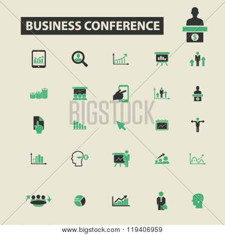 business conversation icons, business conversation logo, business conversation vector, business conversation flat illustration concept, business conversation infographics