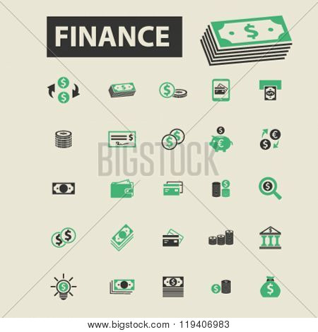 finance icons, finance logo, finance vector, finance flat illustration concept, finance infographics, finance symbols,