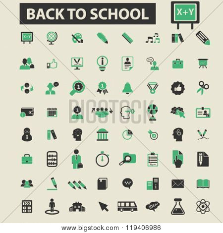 back to school icons, back to school logo, back to school vector, back to school flat illustration concept, back to school infographics, back to school symbols,