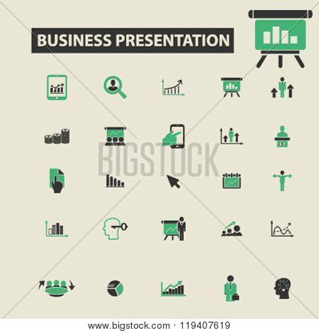 presentation icons, presentation logo, presentation vector, presentation flat illustration concept, presentation infographics, presentation symbols,