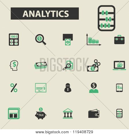 analytics icons, analytics logo, analytics vector, analytics flat illustration concept, analytics infographics, analytics symbols,