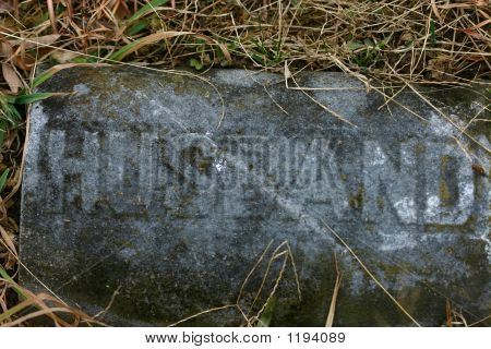 Grave Marker:  Husband