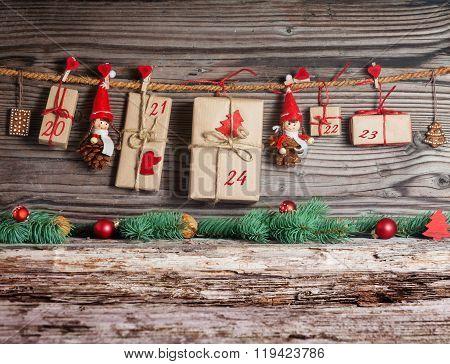 Christmas Calendar, Gifts