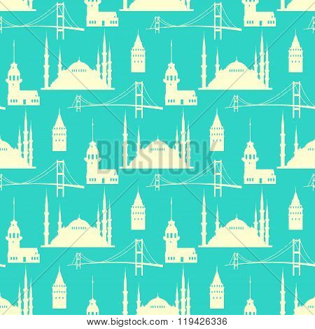 Vector istanbul pattern