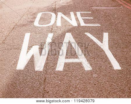 One Way Vintage