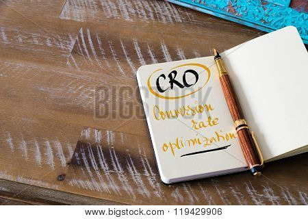 Business Acronym Cro Conversion Rate Optimization