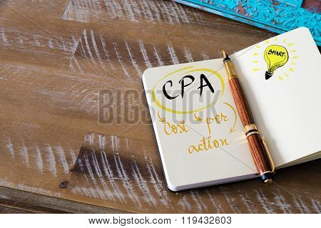 Business Acronym Cpa Cost Per Action