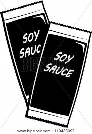 soy sauce sachets