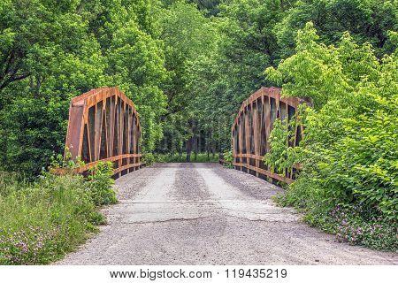 Old Pony Truss Bridge