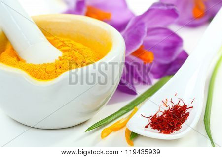 Saffron And Turmeric