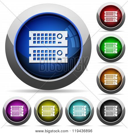 Rack Servers Button Set