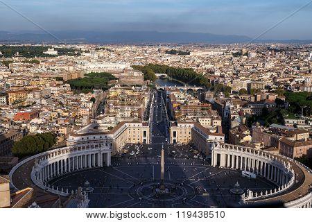 Vatican City Top View