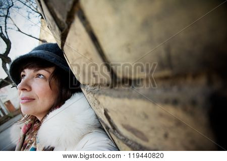 Lonely Woman In The City