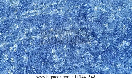 Natural Blue Ice Texture