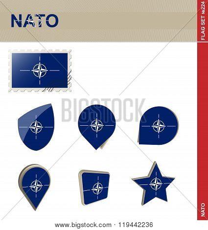 Nato Flag Set, Flag Set #224
