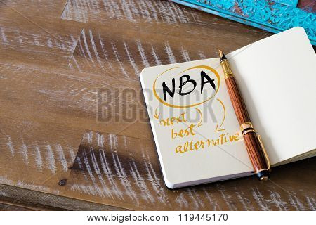 Business Acronym Nba As Next Best Alternative