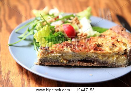 Quiche (food From France)