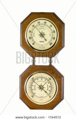 Hygrometer And Barometer