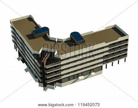 5 Storey Block