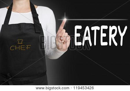 Eatery Touchscreen Is Operated By Chef