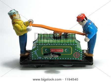 Tin-Toy Series – Railroad Hand Car