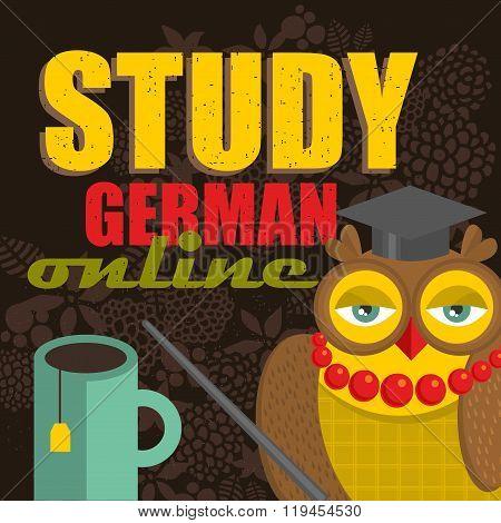 Study online concept.