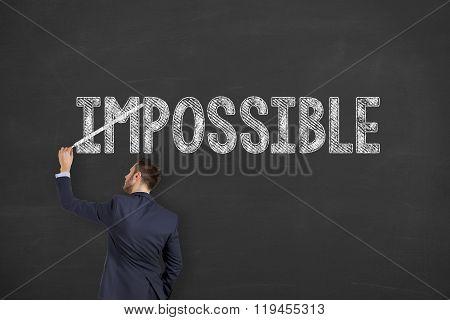 Business Possible on Chalkboard