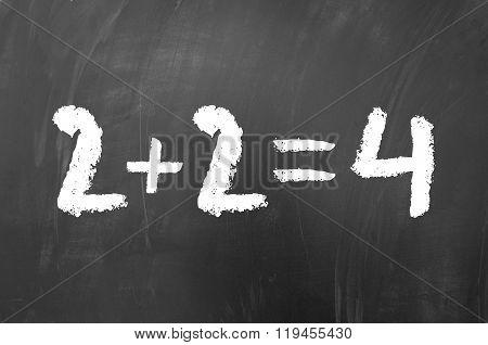 2 Plus 2 Equals 4