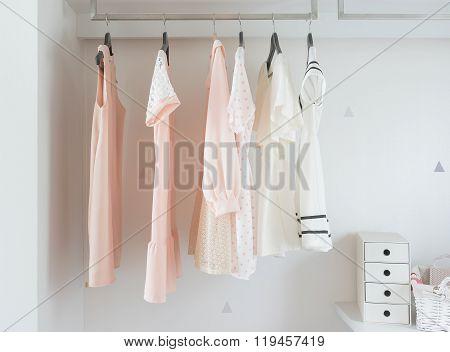 Dress Hanging On Rail