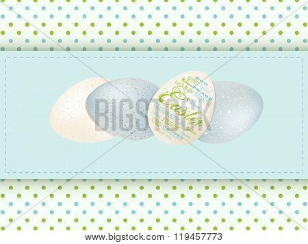 Easter Egg Panel Background
