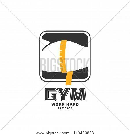 Gym / sport club vector logo template