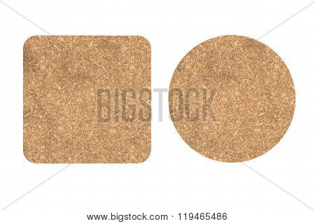 Two Cork Beer Coasters