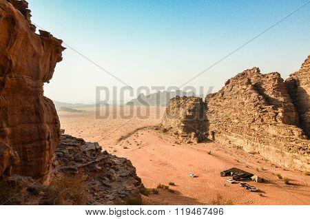 Wadi Rum - jordanian desert