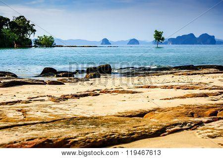 Khlong Muang Beach, Southern Thailand