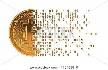 Bitcoin Falling Apart To Computer Digits