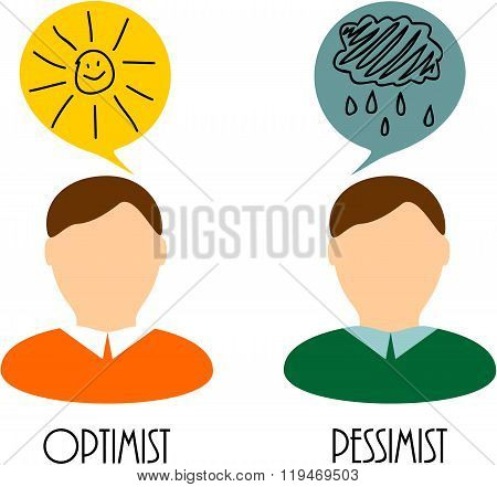 thoughts of an optimist and pessimist