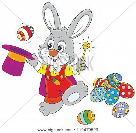 Easter Bunny illusionist