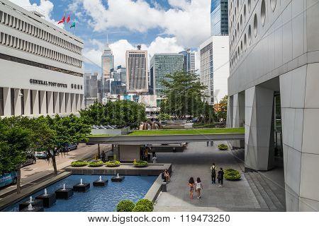 Hong Kong, Sar China - Circa July 2015: General Post Office Building Of Hong  Kong