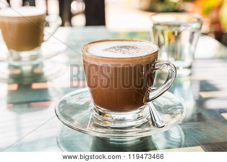 Hot Coffee (mocaccino)