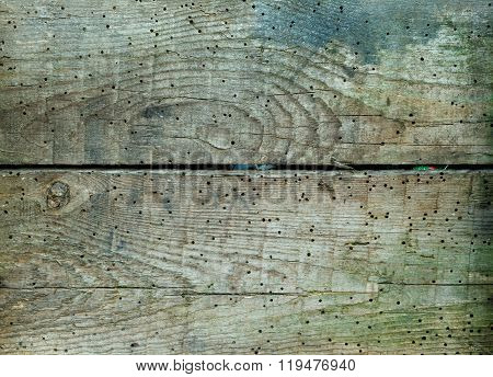 Old dirty woodwith holes boards pattern texture or background panels
