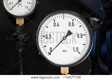 gauges of the steam locomotive 3