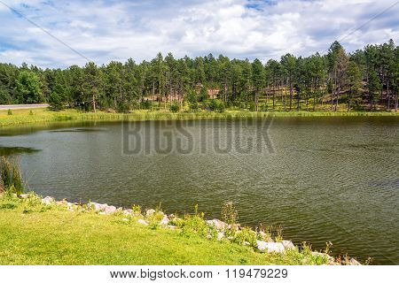 Stockade Lake In Custer State Park