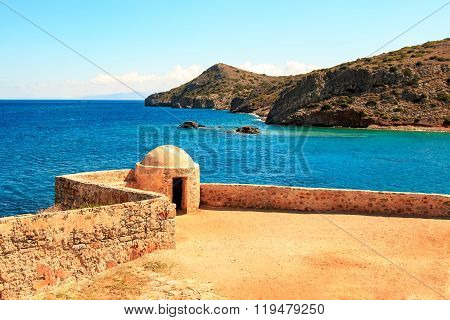 The island fortress of Spinalonga