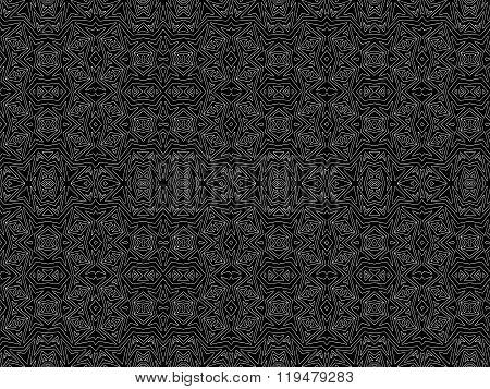 Background Tribal Black White Aztec Maya Texture 4