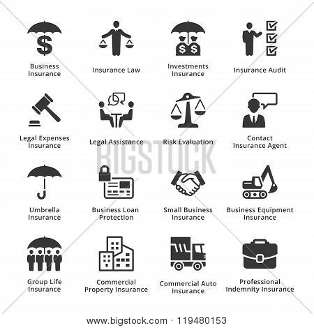 Business Protection Icons